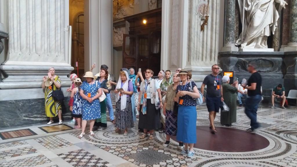 паломническая поездка в италию